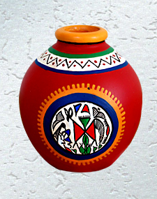 Bright Sun Vase
