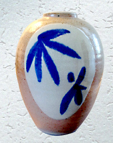Ceramic Willow Vase