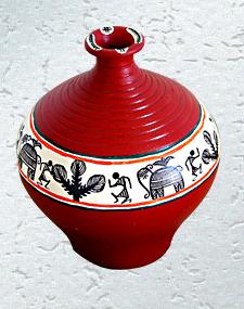 Dancing Figure Vase