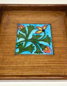 Blue Pottery Tray