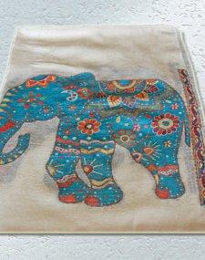 Elephant Pashmina Shawl