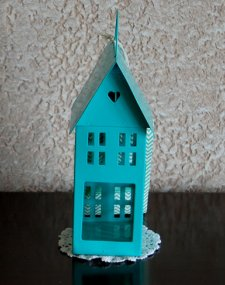 Mini House Candle Holder