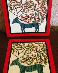 Barasingha coasters