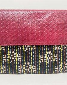 Kantha Embroidery Purse