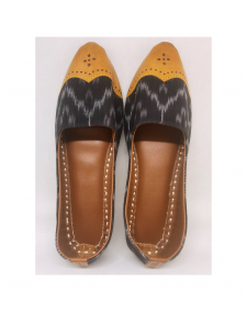 Ikat Leather Mojri