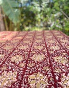 Block Printed Table Cloth