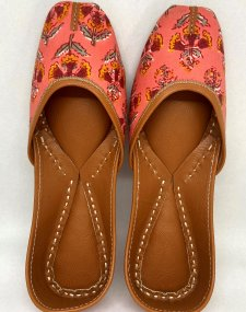 Cotton Leather Mojri