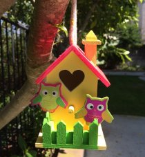 Heart Birds House