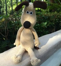 Crochet Gromit | photo