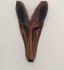 Carved Fox Mask