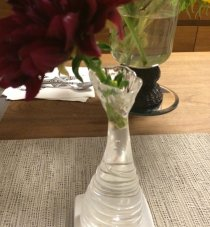 Fluted Glass Vase | photo